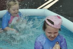 Splashing at OWL.